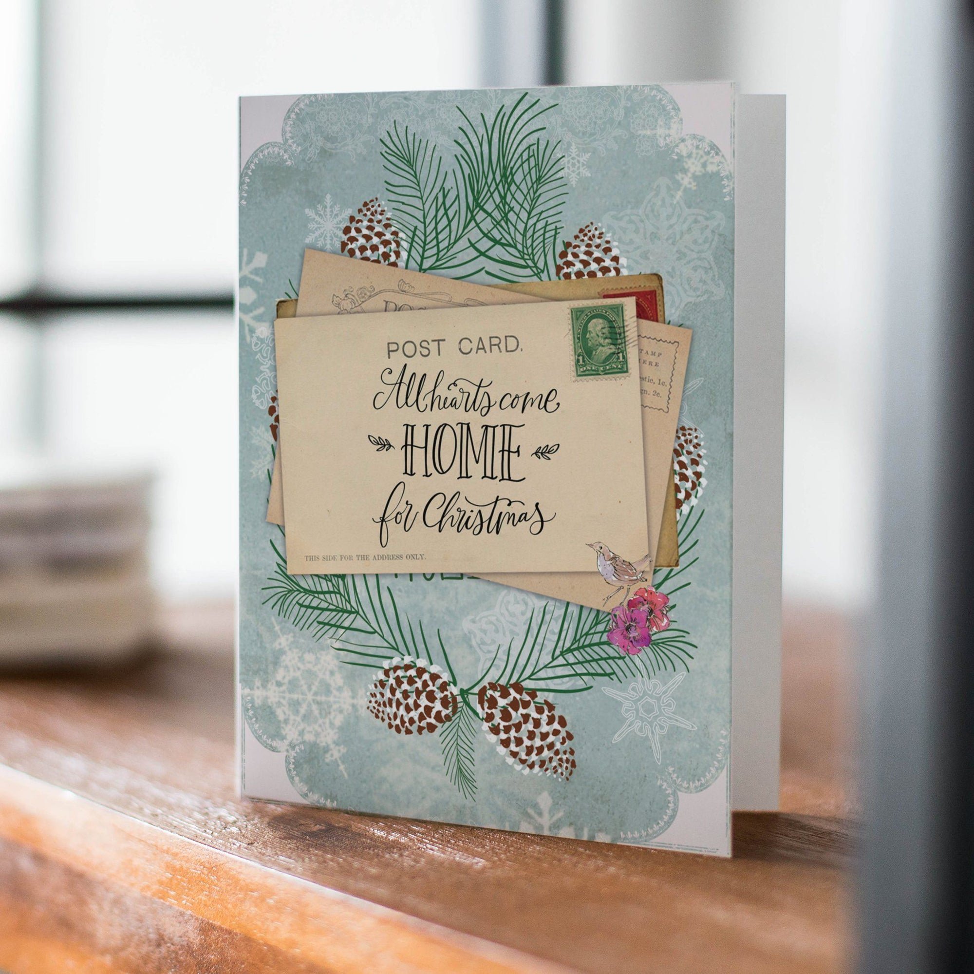 All hearts come home for Christmas Card