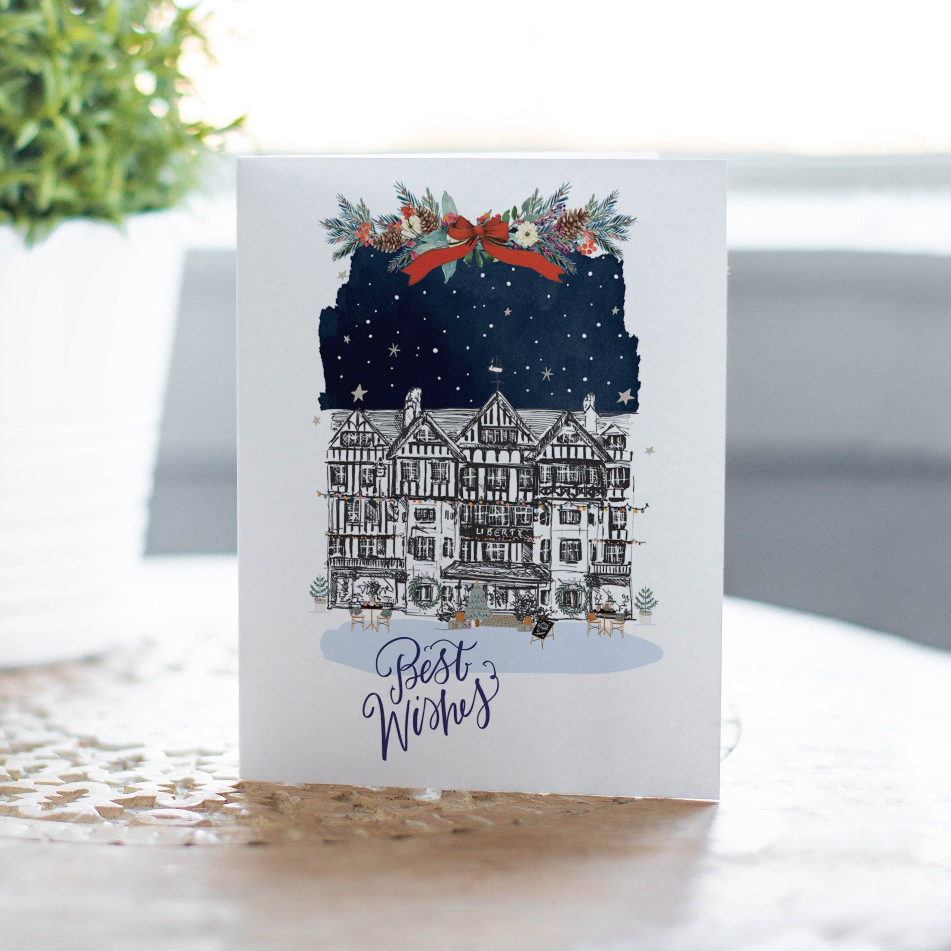 Liberty of London Christmas Card