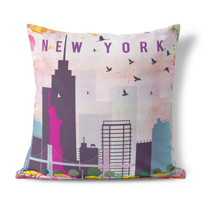 New York, New York Cushion
