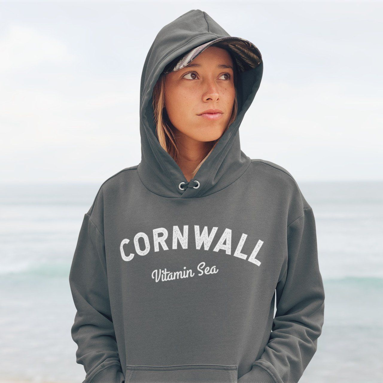 Vitamin Sea Womans Hoodie