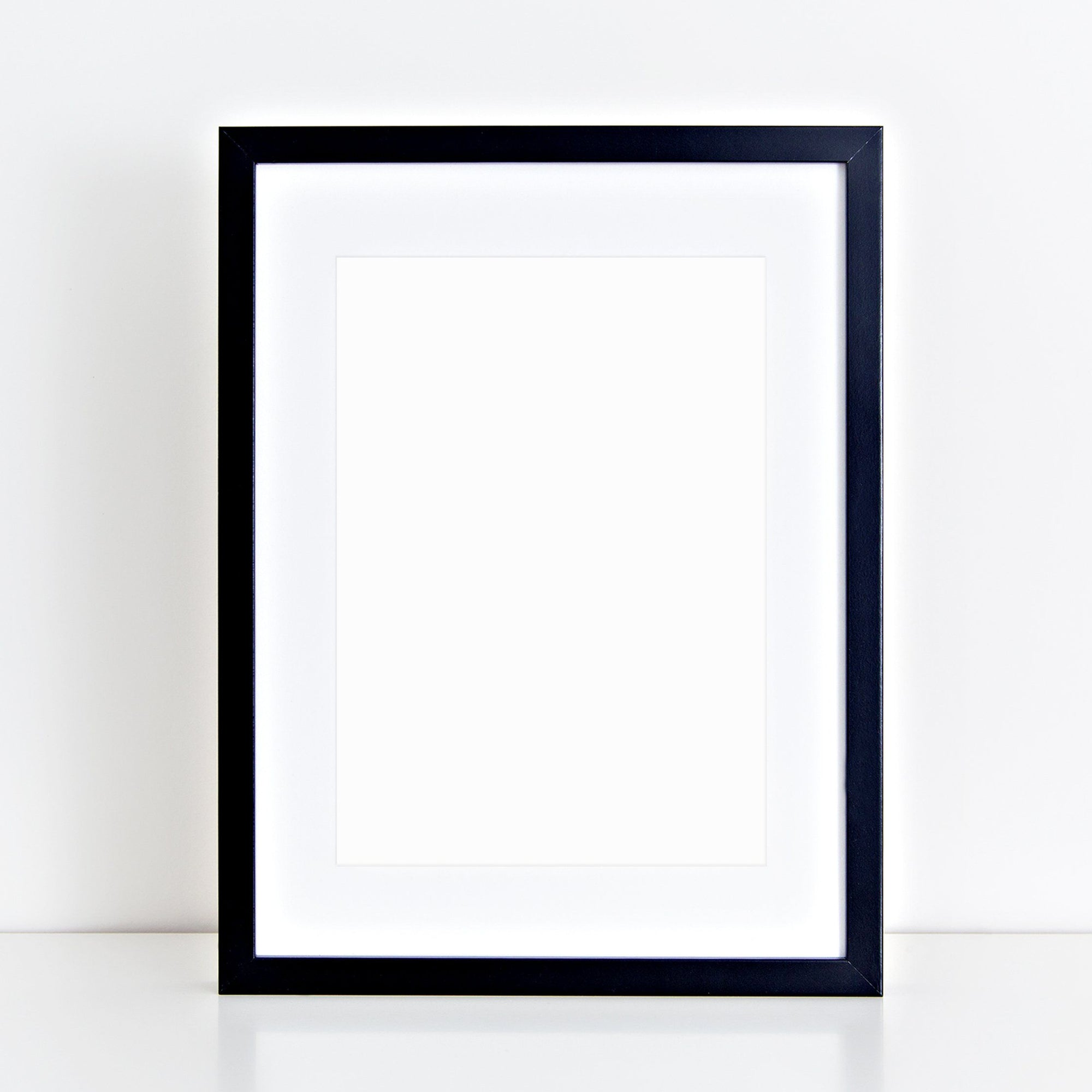 Black A2 frame with mount