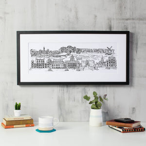 Nottingham Skyline Print