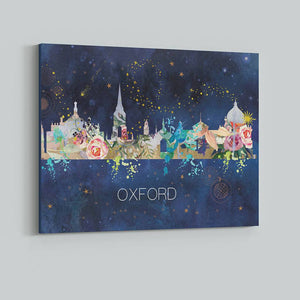 Oxford Watercolour Skyline