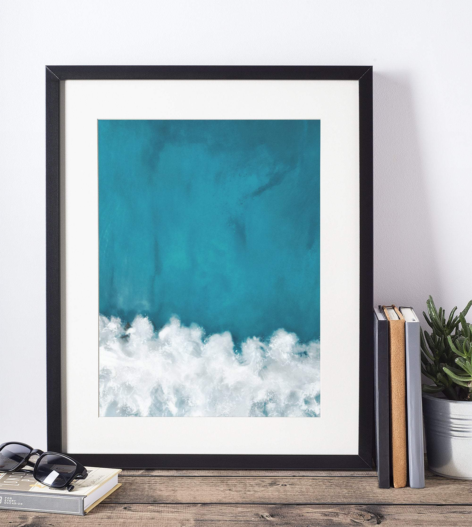 Beach and Ocean coastal art print