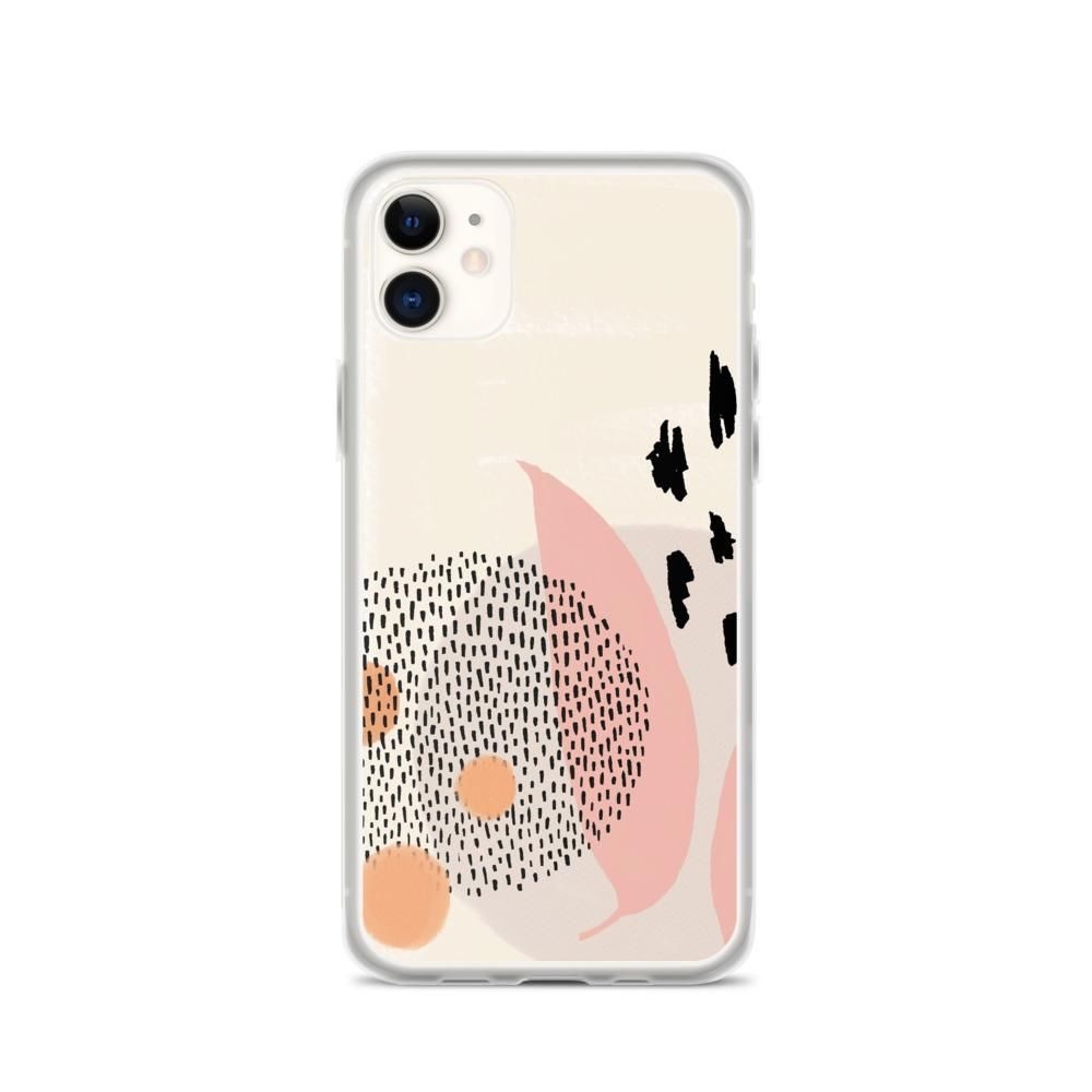 Abstract pattern iPhone Case