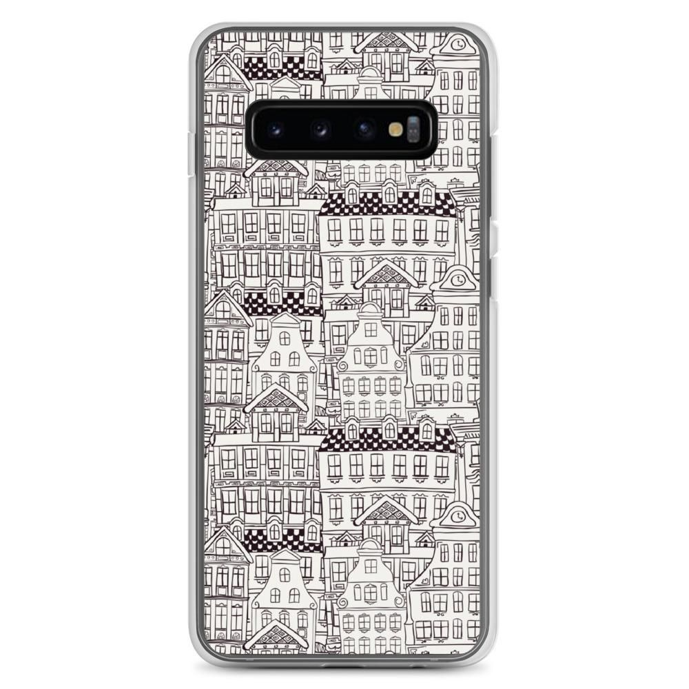 Monochrome Houses Samsung Case