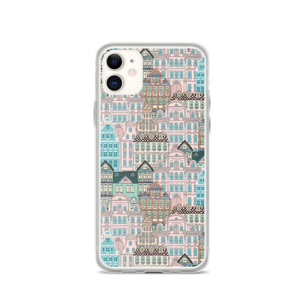 Multicolor Houses iPhone Case