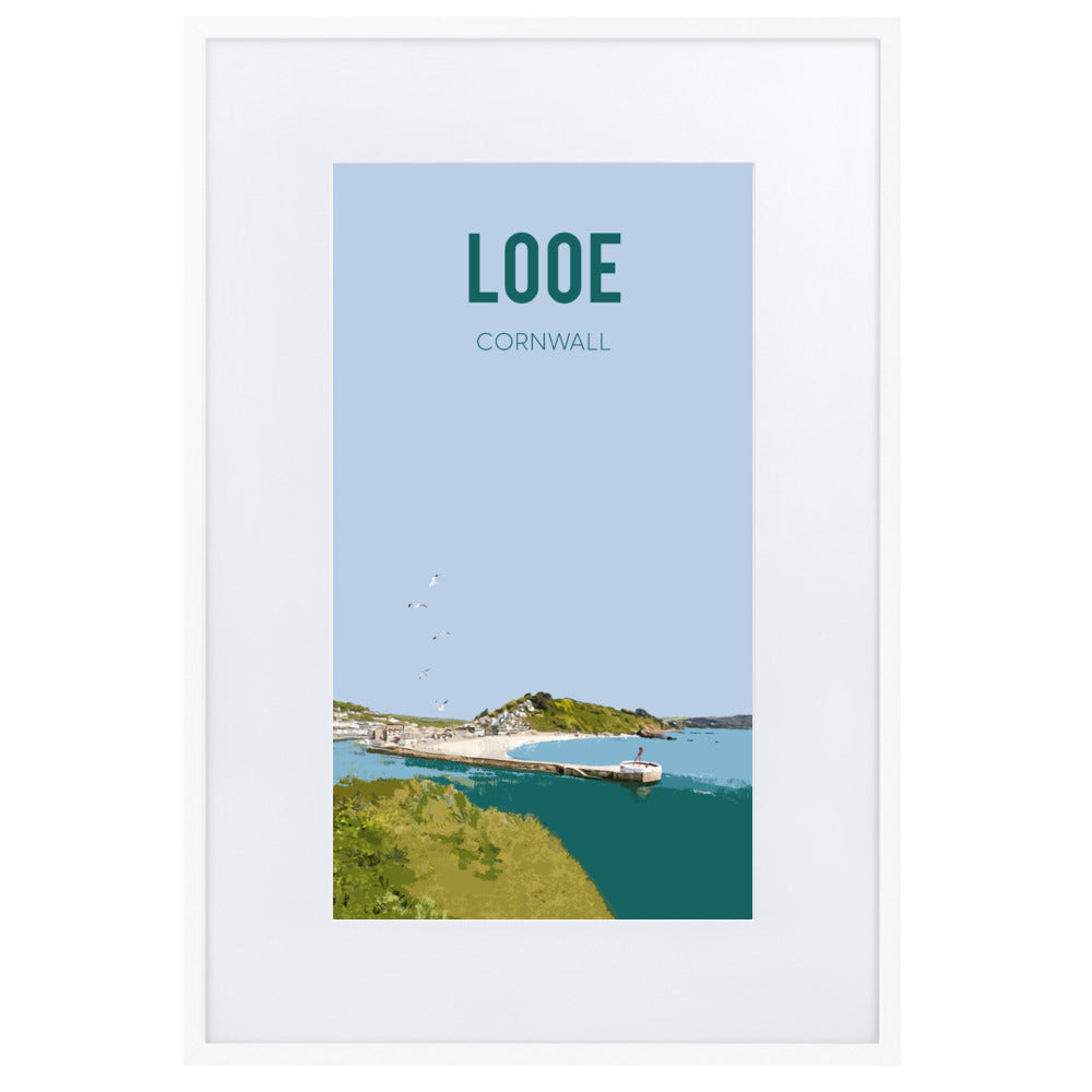 Look, FRAMED FINE ART PRINT, WITH MOUNT