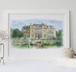 Wedding Venue Illustration