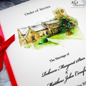 Illustrated Order of Service
