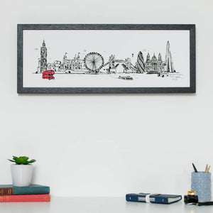 London skyline illustration