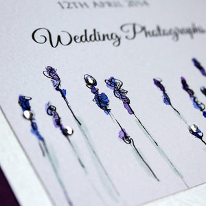 Lavender Design Photo Album