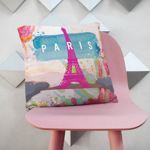 Paris, France Cushion