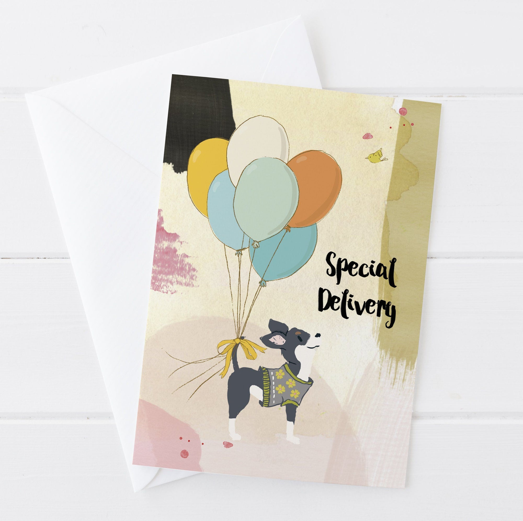 Special Delivery Greetings Card