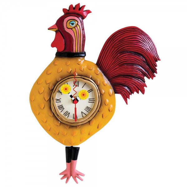 Allen Designs Cockadoodle Clock - Louie's Gift Shop