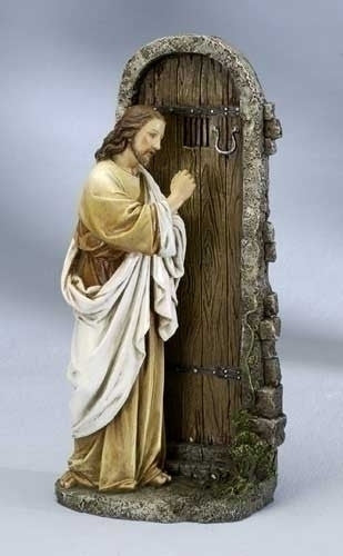 Jesus Knocking  At The Door Figure -Joseph Studio - Louie's Gift Shop