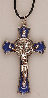 Benedictine  Crucifix  Pendant