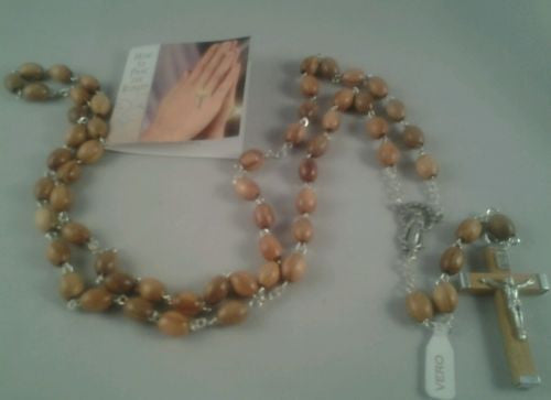 Rosary Beads Olive Wood - Louie's Gift Shop