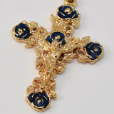 Lourdes gold plated Rosary -Ghirelli - 19153