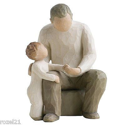 Willow Tree Grandfather Figurine - Louie's Gift Shop
