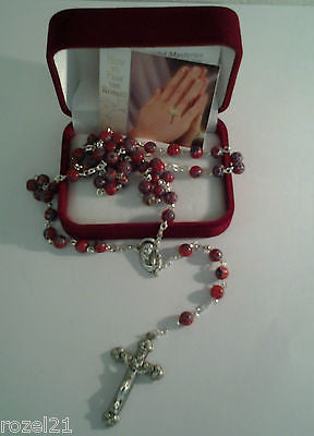 Rosary Beads Murano Glass