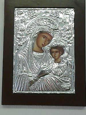 Virgin Mary and Child Greek Byzantine Icon - Louie's Gift Shop