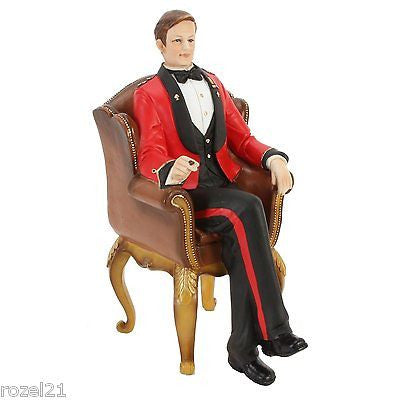Lord Byron Manor House Figurine Ornament - Louie's Gift Shop