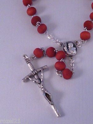 Wood Rosary - Perfumed - Padre Pio - Louie's Gift Shop