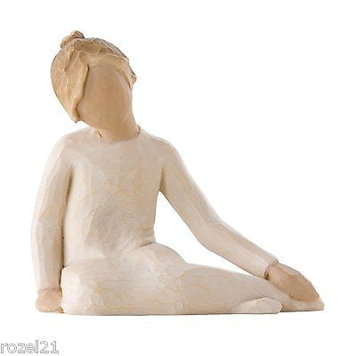 Willow Tree Thoughtful Child Figurine - Louie's Gift Shop
