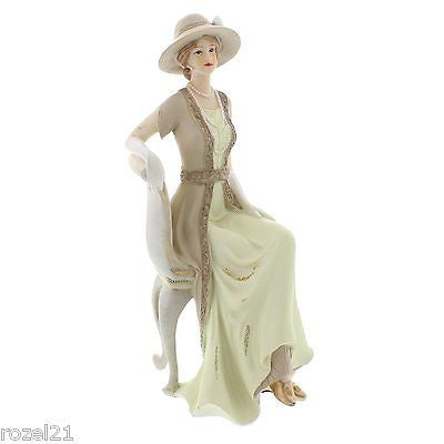 Lady Elizabeth Manor House Figurine Ornament