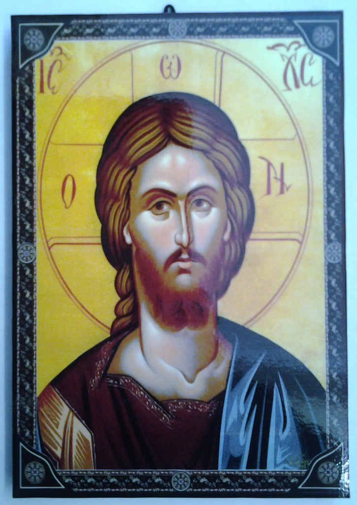 Christ Orthodox, Byzantine style Icon. - Louie's Gift Shop