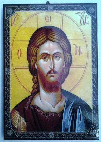 Christ Orthodox, Byzantine style Icon.