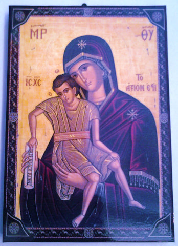 Mother and Child - Greek-Byzantine Icon
