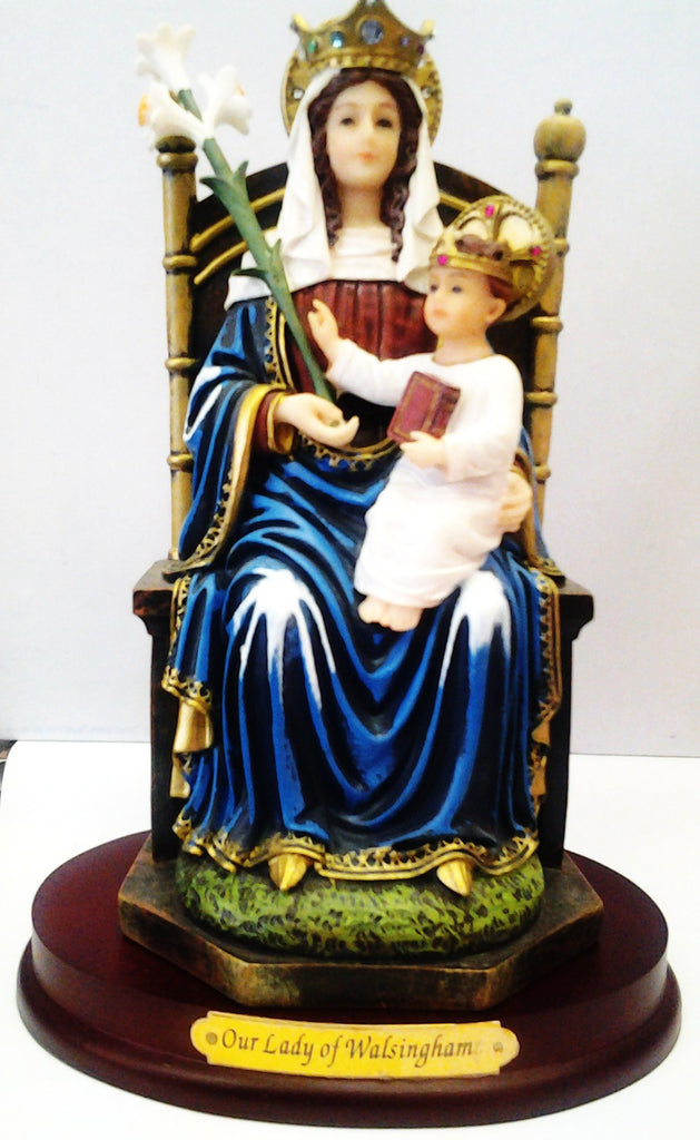 Our Lady of Walsingham - by Florentine studio - Louie's Gift Shop