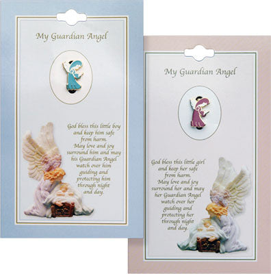 Baby Brooch/Girl/Guardian/Angel girl - Louie's Gift Shop