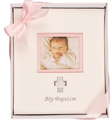 My Baptism Photo Album Girl - Louie's Gift Shop