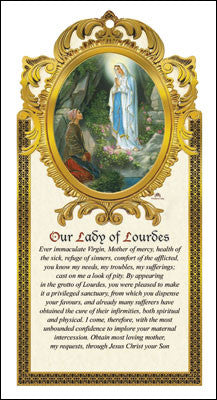 Our Lady Of Lourdes - Louie's Gift Shop