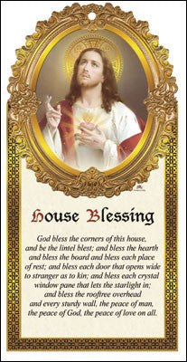 House Blessing wooden plaque - Louie's Gift Shop