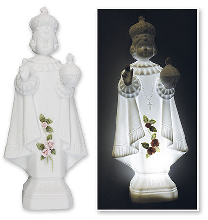 Porcelain Statue of Infant of Prague - Louie's Gift Shop