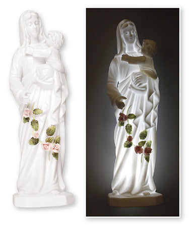 Madonna and Child Porcelain statue - Louie's Gift Shop