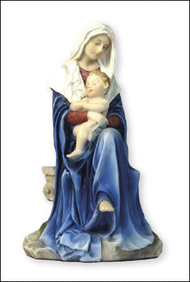"Veronese Resin Statue 6"" Madonna & Child - Louie's Gift Shop"