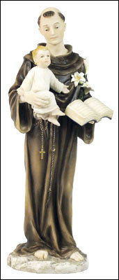 St.Anthony of Padua  Veronese Statue - Louie's Gift Shop