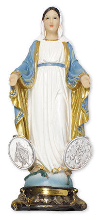 "Florentine 8"" Resin Statue-Miraculous Medal - Louie's Gift Shop"