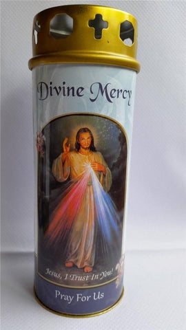 Divine Mercy Votive Candle