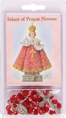Rosary and Novena Book/Infant of Prague - Louie's Gift Shop