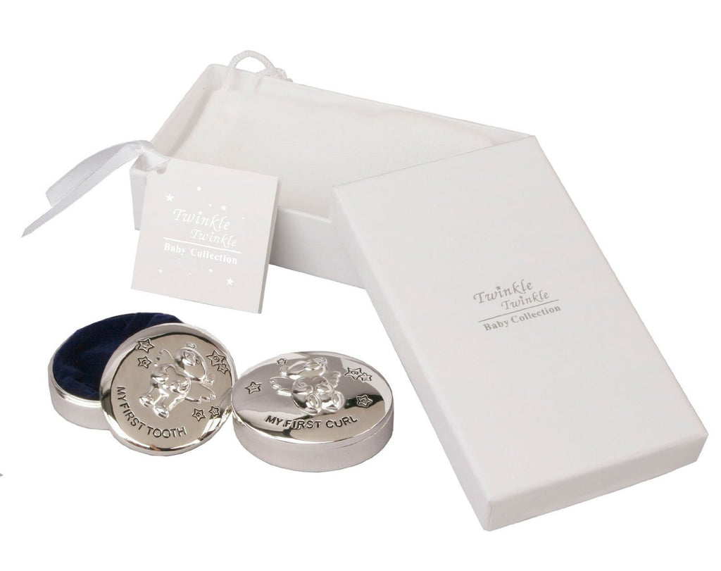 Twinkle Twinkle Tooth & Curl Trinket Box Gift Set - Louie's Gift Shop