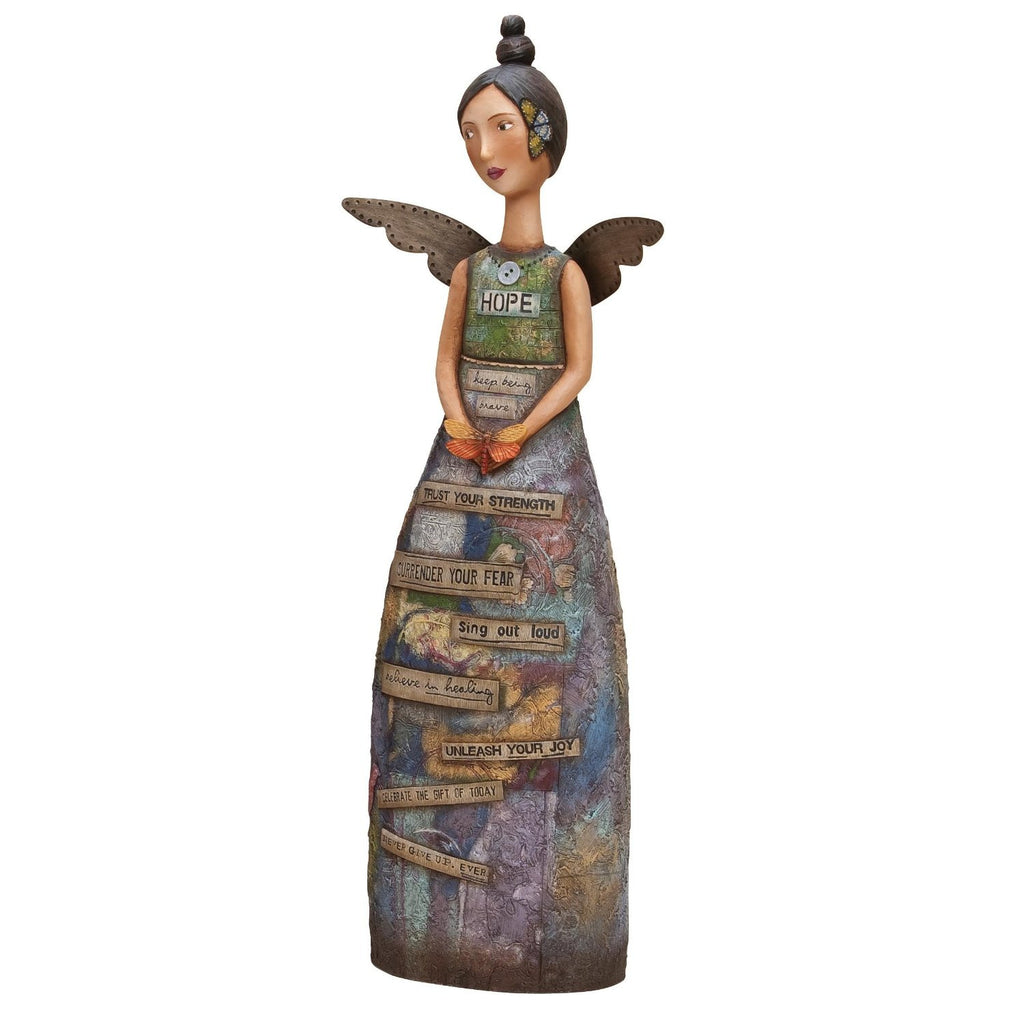 Kelly Rea Roberts Collection Hope Figure - by Demdaco - Louie's Gift Shop