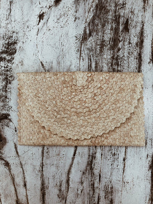 Pochette foglie di palma - Wanderlust Factory® ☽ Mobile Fashion Boutique