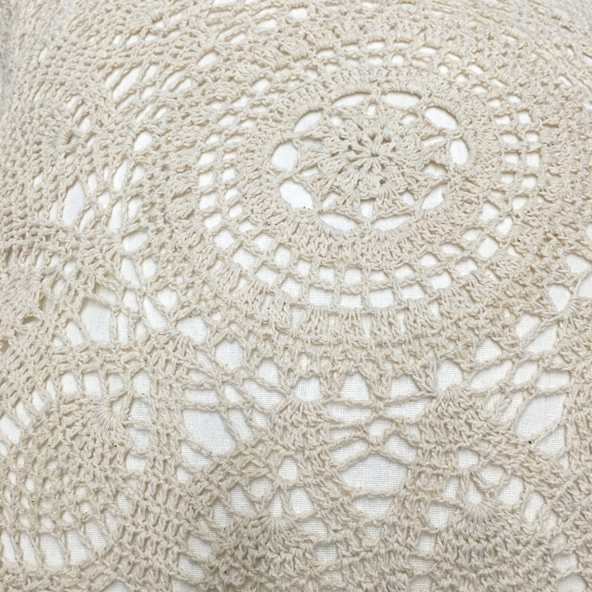 Federa cuscino 45x45 Crochet - Wanderlust Factory ● Mobile Fashion Boutique