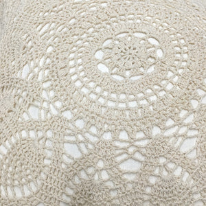 Federa cuscino 45x45 Crochet - Wanderlust Factory® ☽ Mobile Fashion Boutique